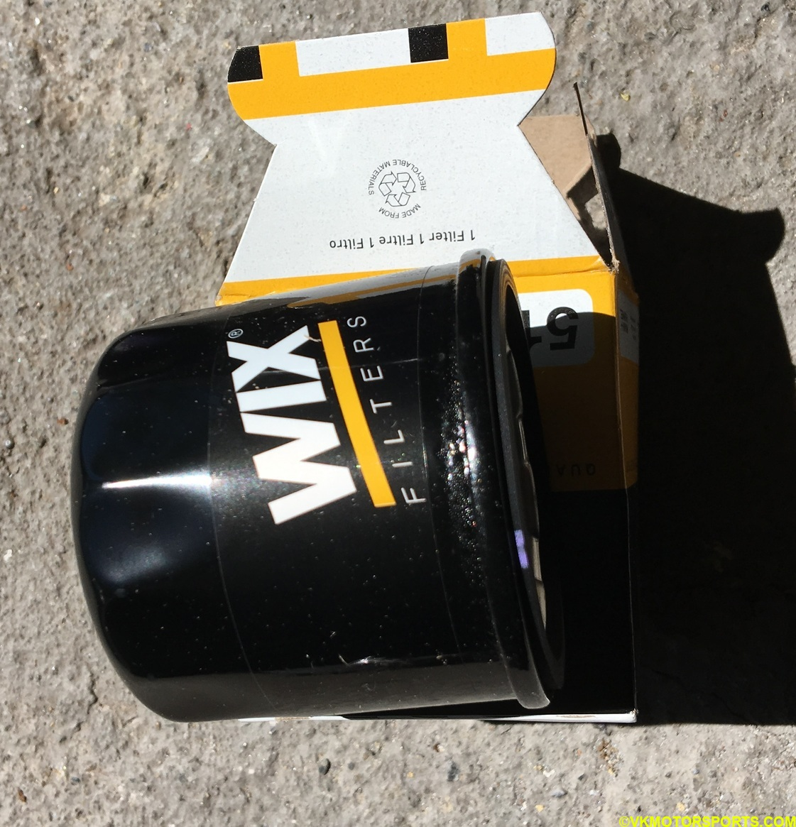Figure 12. New Oil filter out of packaging